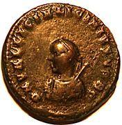 Follis - Licinius II (IOVI CONSERVATORI CAESS; Cyzicus) -  obverse