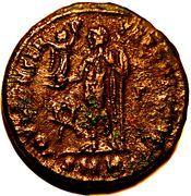Follis - Licinius II (IOVI CONSERVATORI CAESS; Cyzicus) -  reverse