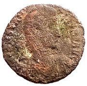 Nummus - Constantius II (FEL TEMP REPARATIO; Thessalonica mint ) – obverse