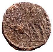 Nummus - Constantius II (FEL TEMP REPARATIO; Thessalonica mint ) – reverse