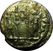 Follis - Constantin II (GLORIA EXERCITVS, deux étendards avec une couronne, Trèves) – reverse