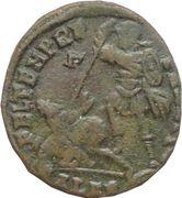 Nummus Constantius II (FEL TEMP REPARATIO; Alexandria mint) – reverse