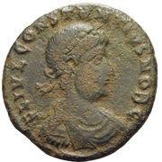 Follis - Constantius II (GLORIA EXERCITVS; Heraclea) – obverse