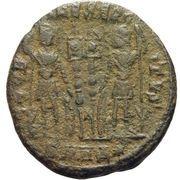 Follis - Constantius II (GLORIA EXERCITVS; Heraclea) – reverse