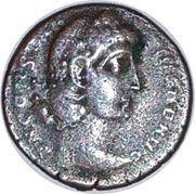 Nummus - Constantius II (VOT XX MVLTI XXX; Nicomedia) – obverse