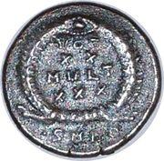 Nummus - Constantius II (VOT XX MVLTI XXX; Nicomedia) – reverse