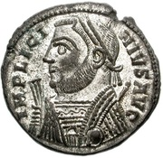 Follis - Licinius I (IOVI CONSERVATORI AVGG, Alexandria mint) – obverse