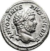 Denarius - Caracalla (Hercules) – obverse