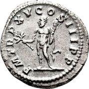 Denarius - Caracalla (Hercules) – reverse