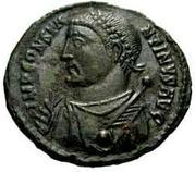 Follis - Constantinus I (IOVI CONSERVATORI AVGG; Cyzicus mint) – obverse