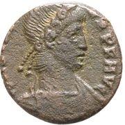 Follis - Constantius II (VICTORIAE DD AVGG Q NN; Arelate) – obverse