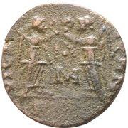 Follis - Constantius II (VICTORIAE DD AVGG Q NN; Arelate) – reverse