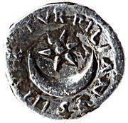 Denarius - Augustus (TVRPILIANVS III VIR) – reverse
