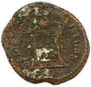 Follis - Constantinus I (BEATA TRANQVILLITAS ; Trier Mint) – reverse