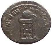 Follis - Crispus (BEATA TRANQVILLITAS ; Trier Mint) – reverse