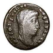 Follis - Constantinus I (VN MR; Alexandria) – obverse