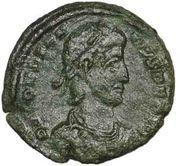 ½ Maiorina - Constantius II (SPES REIPVBLICAE) – obverse