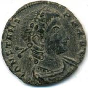 Follis - Constans (VICTORIAE DD AVGGQ NN; Thessalonica) – obverse