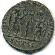 Follis - Constans (VICTORIAE DD AVGGQ NN; Thessalonica) – reverse