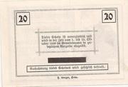 20 Heller (Rosenburg) – reverse