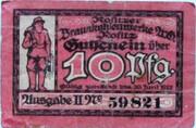 10 Pfennig (Rositzer Braunkohlenwerke) – obverse
