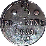 3 Pfenning – reverse