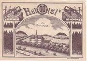 50 Heller (Rottenbach) – obverse