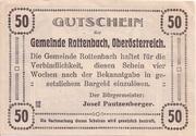 50 Heller (Rottenbach) – reverse