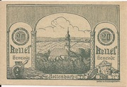 20 Heller (Rottenbach) – obverse
