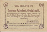 20 Heller (Rottenbach) – reverse
