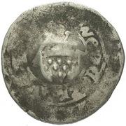 1 Prague Groschen (Counterstamped (Rottenburg)) – obverse