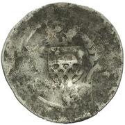 1 Prague Groschen (Counterstamped (Rottenburg)) – reverse
