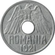 25 Bani - Ferdinand I – obverse
