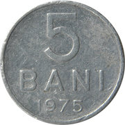 5 Bani -  reverse