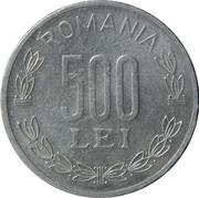 500 Lei -  reverse
