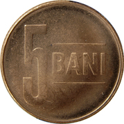 5 Bani (Eagle without crown) -  reverse