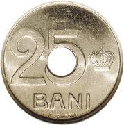 25 Bani - Ferdinand I (Pattern Strike) – reverse