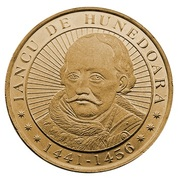 50 Bani (Iancu de Hunedoara) -  reverse