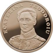 50 Bani (Ecaterina Teodoroiu) -  reverse