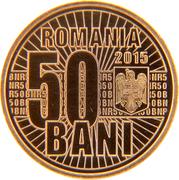 50 Bani (Redenomination of the Leu) -  obverse