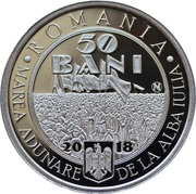 50 Bani (Great Union) -  obverse