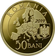 50 Bani (Presidency of the Council of the European Union) -  obverse