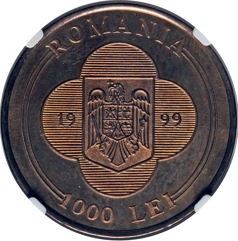 ROMANIA Europe Set of 3 UNC banknotes 1000,5000,10000 Lei 1998-1999