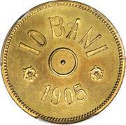 10 Bani - Carol I (Pattern Strike) – reverse