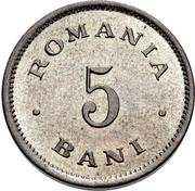 5 Bani - Carol I – reverse
