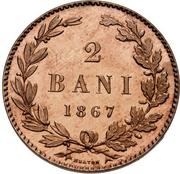 2 Bani - Carol I – reverse