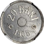 20 Bani (Piefort) – reverse