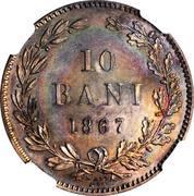 10 Bani - Carol I – reverse