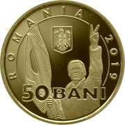 50 Bani  (30 years since the Romanian Revolution of December 1989) -  obverse