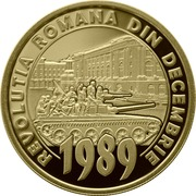 50 Bani  (30 years since the Romanian Revolution of December 1989) -  reverse